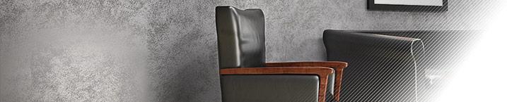 Sabbia Micro Platinum - декоративное покрытие с эффектом песчаных вихрей с серебристым отблеском