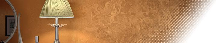 Арабеско Бронз - гладкая декоративная штукатурка с эффектом бронзового металлизированного перелива цветов