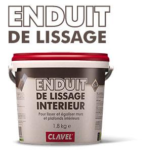 Шпатлевка финишная для внутренних работ Enduit de lissage Clavel