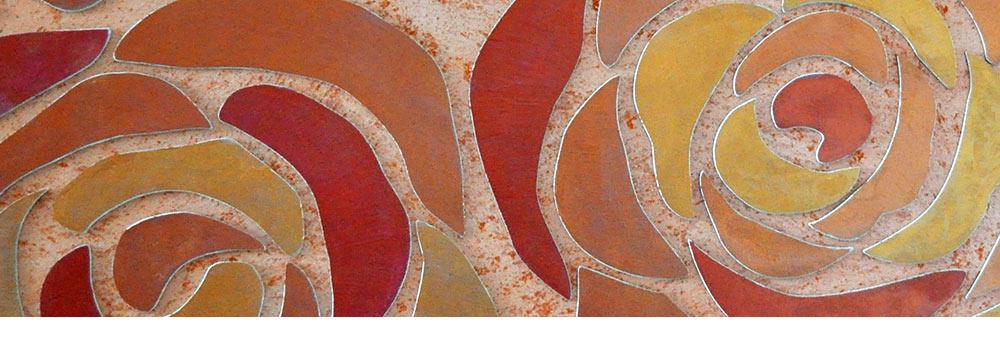 """Коллекция трафаретов """"Цветы"""" для создания декоративных панно толщиной 2 и 8 мм"""