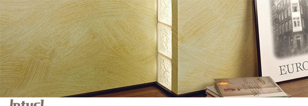 Intuel Premiere - декоративное покрытие с эффектом стен ручной работы