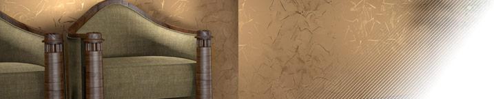 Marbella - венецианская штукатурка с эффектом потертого мрамора с блестящими прожилками
