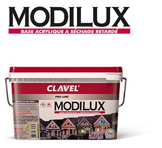 Modilux - клеевая база для нанесения флоковых покрытий Clavel