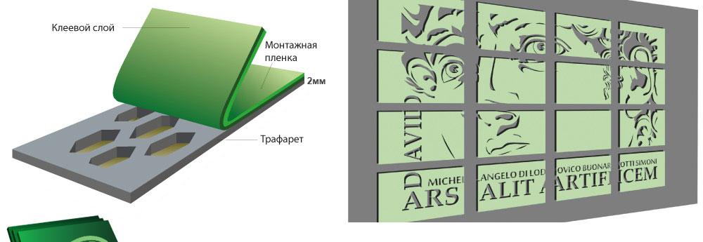 Modulo 2 - объемные трафареты для создания трехмерных панно толщиной 2 мм