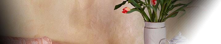 Полуглянцевое декоративное покрытие с эффектом полупрозрачной поверхности с многоцветными переливами.