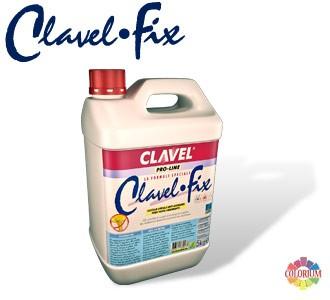 Clavel Fix - акриловая пропитка для укрепления оснований глубокого проникновения с антифунгицидными свойствами