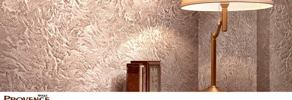 Provence Antique - пластичная структурная штукатурка, создающая различные варианты состаренных каменных стен.