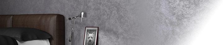 Sabbia Micro Platinum - декоративное покрытие с эффектом песчаных вихрей платинового отлива