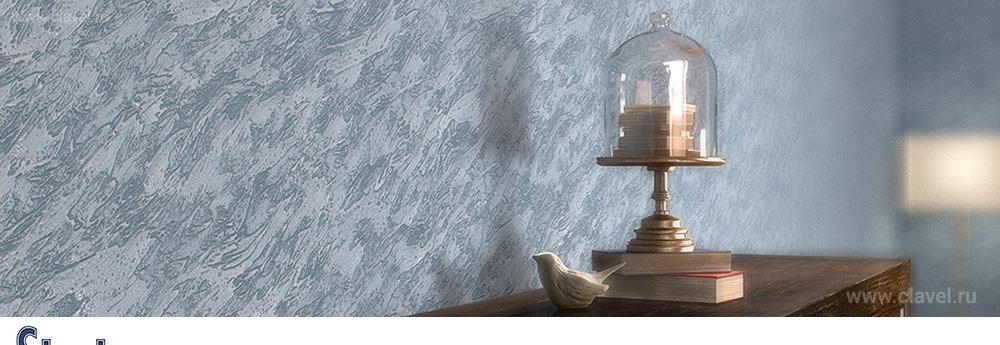 Пластичная декоративная штукатурка, для создания объемных текстур.