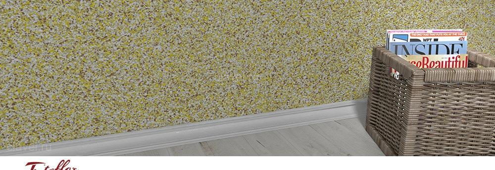 Tintoflox Midi -  флоковые покрытия на основе акриловых чипсов 3 мм для декорирования интерьеров.